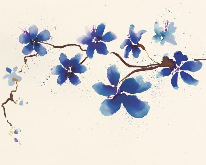 Summer Thornton (Oriental Blossom) Canvas Prints