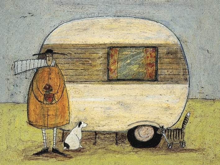 Sam Toft (Home From Home) Canvas Prints