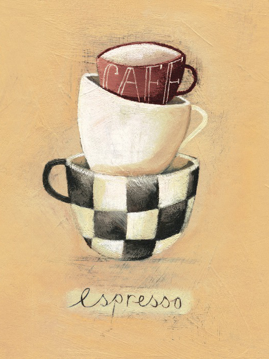 Nicola Evans (Cafe Espresso) Canvas