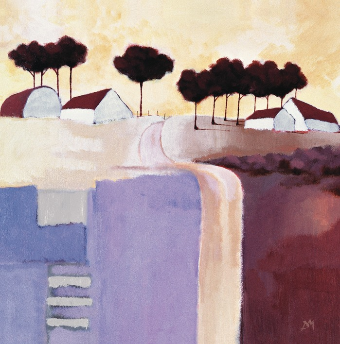Derek Melville (The Red Barn) Canvas Prints