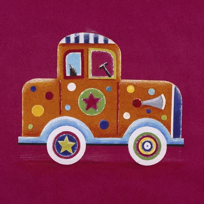 Simon Hart (Orange Clown Car) Canvas Prints