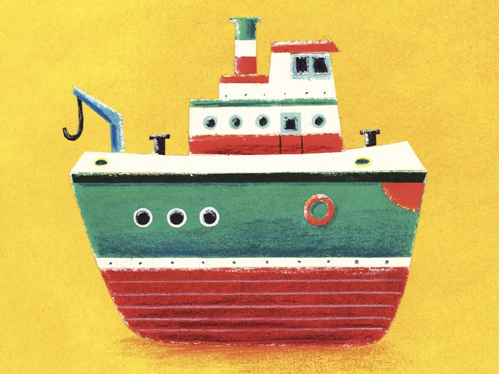 Simon Hart (Tug Boat) Canvas Print