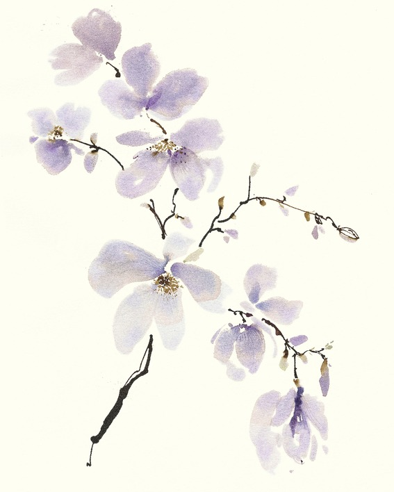 Summer Thornton (Gentle Breeze I) Canvas Print