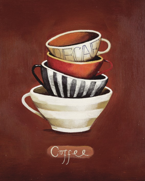 Nicola Evans (Coffee Decaf) Canvas Print