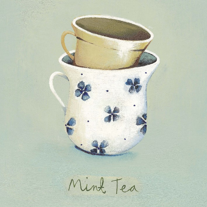 Nicola Evans (Mint Tea) Canvas Print