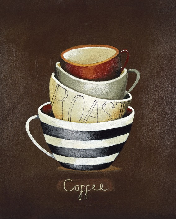Nicola Evans (Coffee) Canvas Print