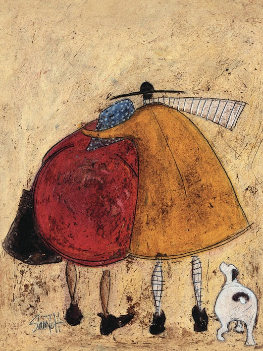 Sam Toft (Hugs On The Way Home) Canvas Prints