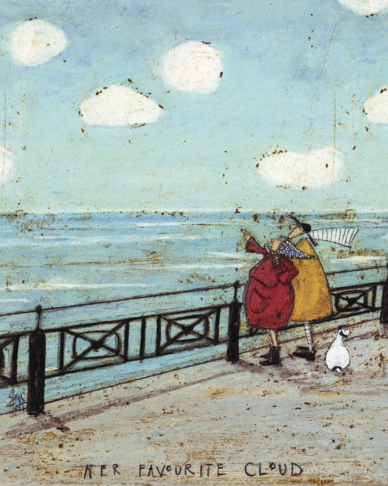 Sam Toft (Her Favourite Cloud) Canvas Print