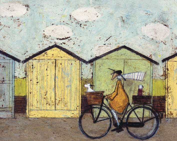 Sam Toft (Off For A Breakfast) Canvas Print