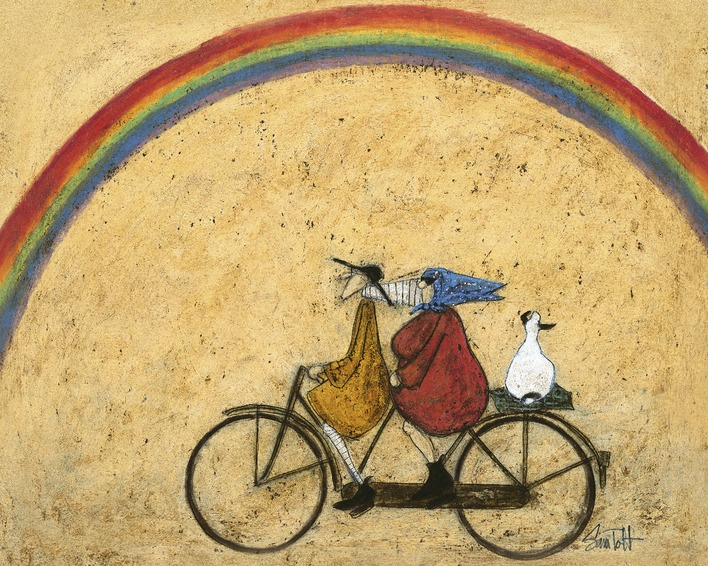 Sam Toft (Somewhere Under a Rainbow) Canvas Print