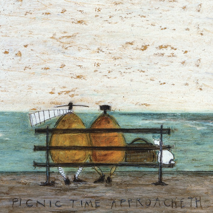 Sam Toft (Picnic Time Approacheth) Canvas Print
