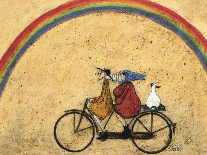 Sam Toft (Somewhere Under a Rainbow) Canvas
