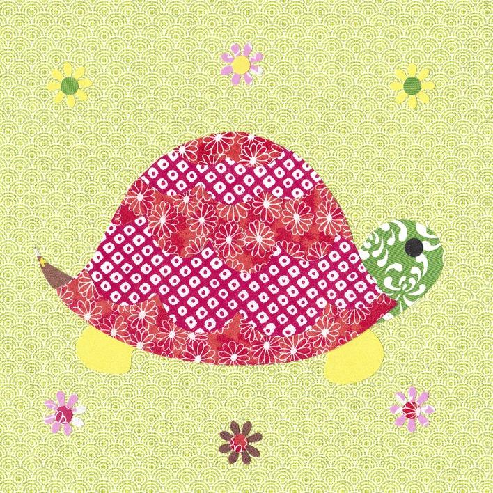 Rachel Taylor (Tortoise) Canvas Print