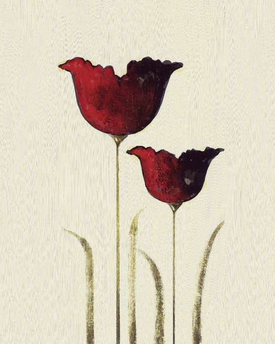 Nicola Evans (Tulips II) Canvas