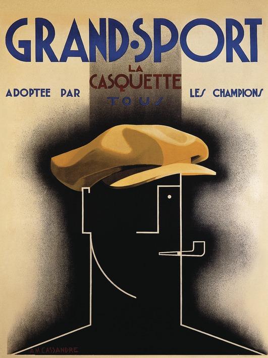 A.M. Cassandre (Grand Sport, 1925) Canvas Prints