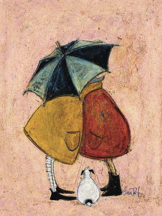 Sam Toft (A Sneaky One) Canvas Prints