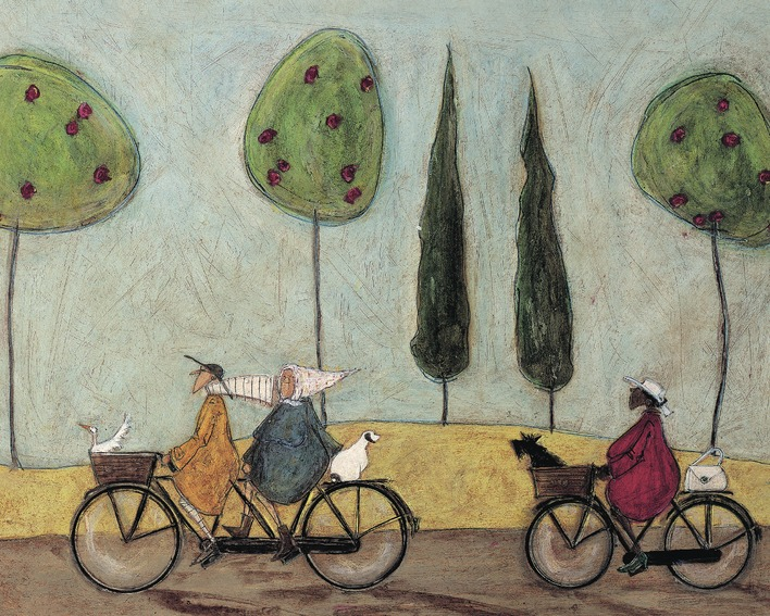 Sam Toft (A Nice Day For It) Canvas Prints