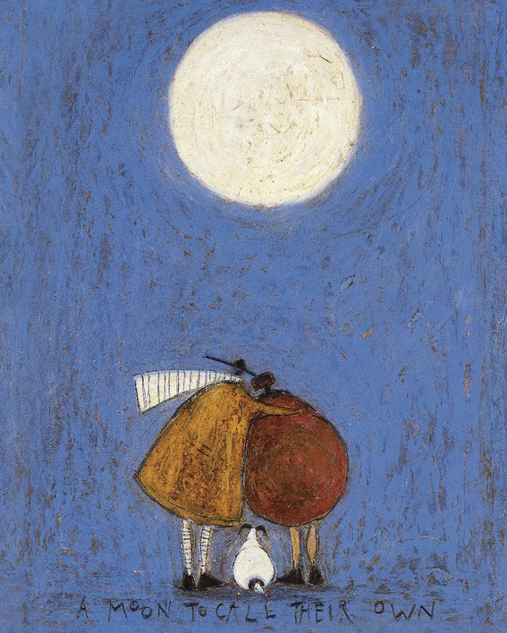 Sam Toft (A Moon To Call Their Own) Canvas Prints