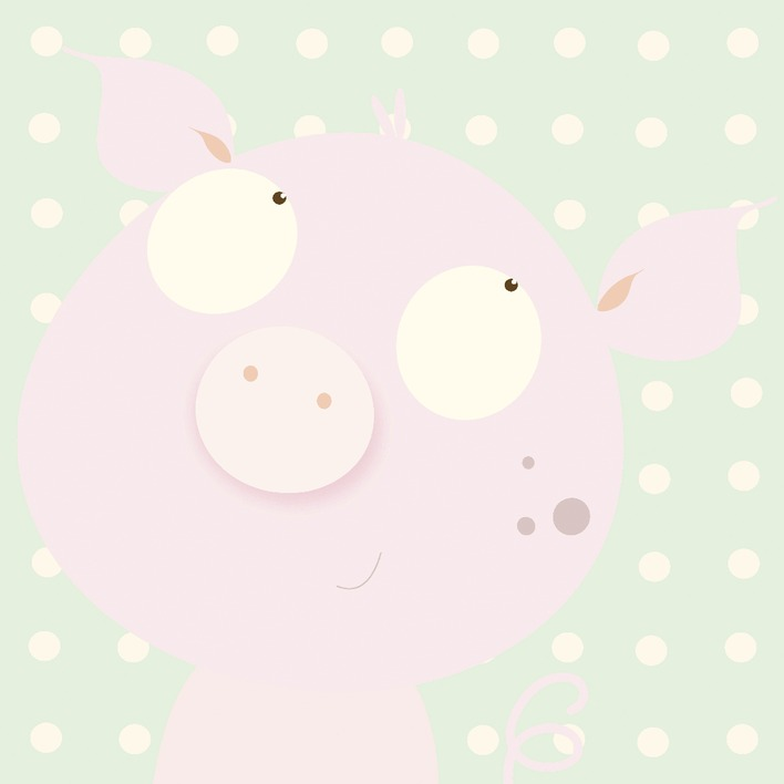Nicola Evans (Pinky Piggy) Canvas Prints