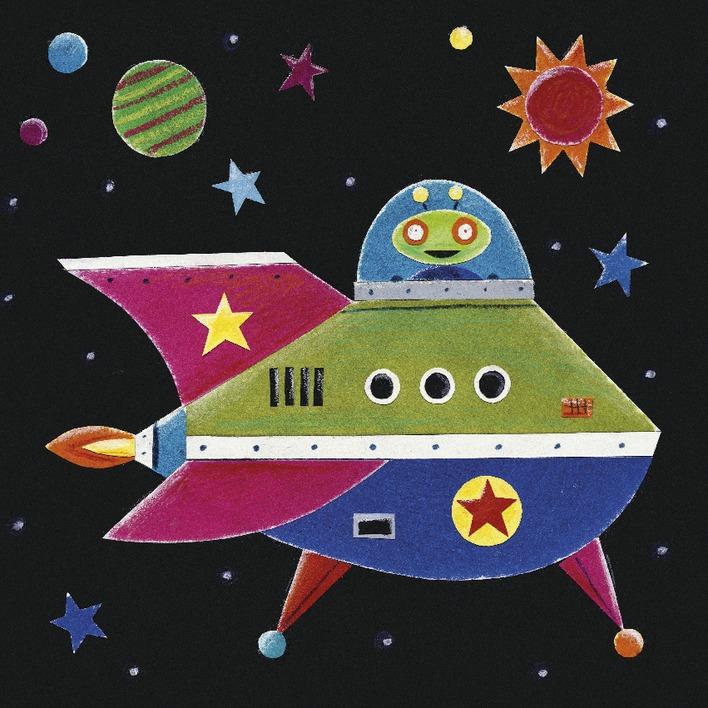 Simon Hart (Spaceship 2) Canvas Print