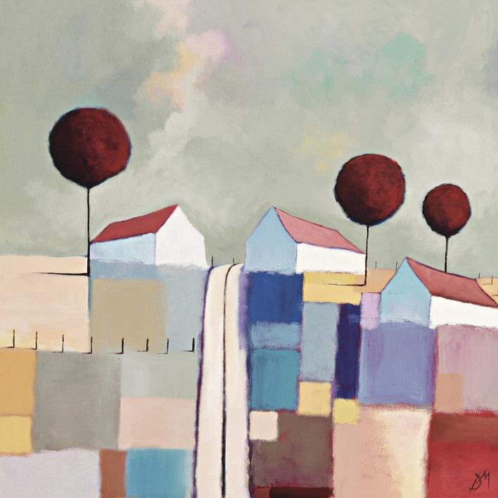 Derek Melville (Summer Light) Canvas Prints