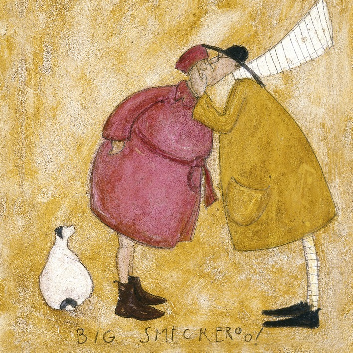 Sam Toft (Big Smackeroo!) Canvas Prints