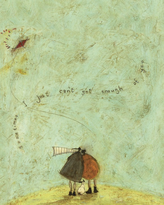 Sam Toft (I Just Can't Get Enough of You) Canvas Prints