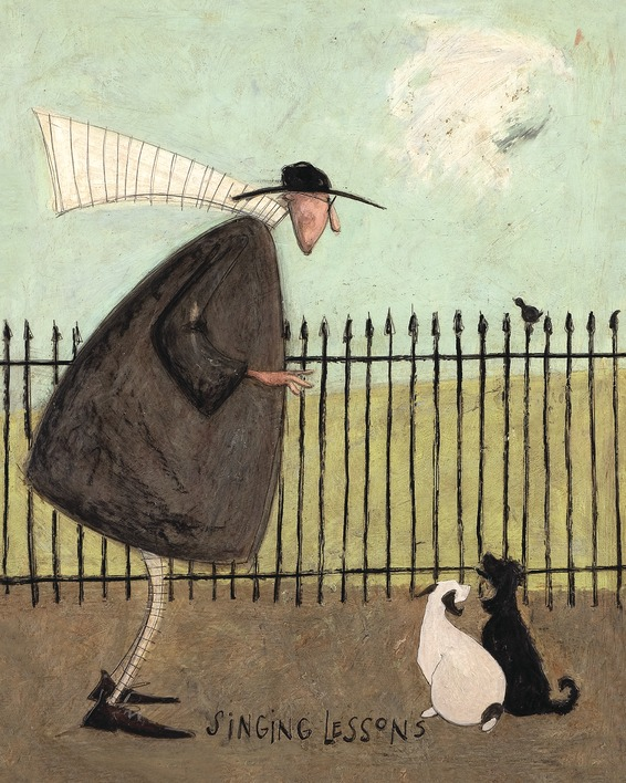 Sam Toft (Singing Lessons) Canvas Prints