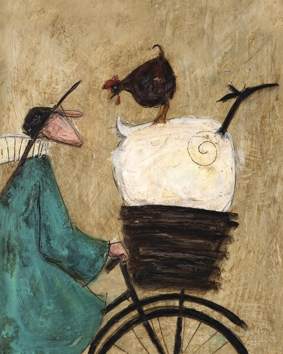 Sam Toft (Taking the Girls Home) Canvas