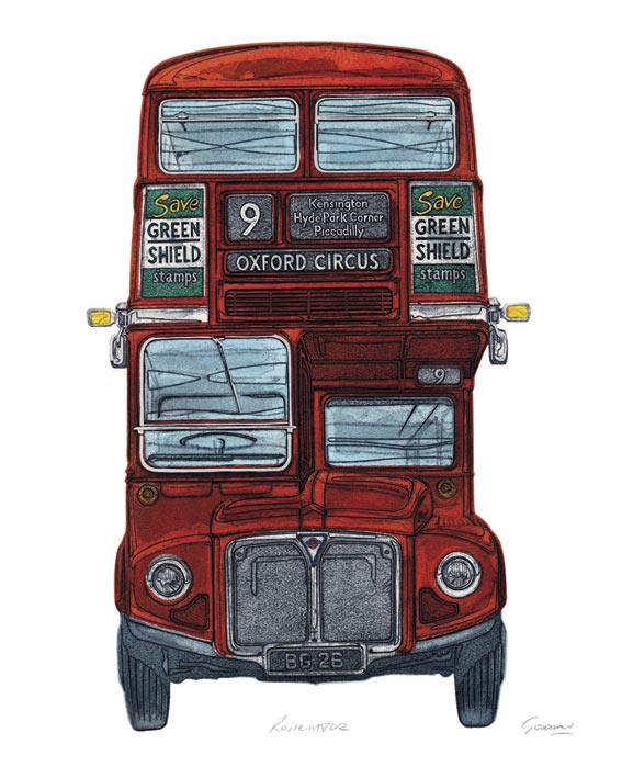 Barry Goodman (Routemaster) Canvas Print