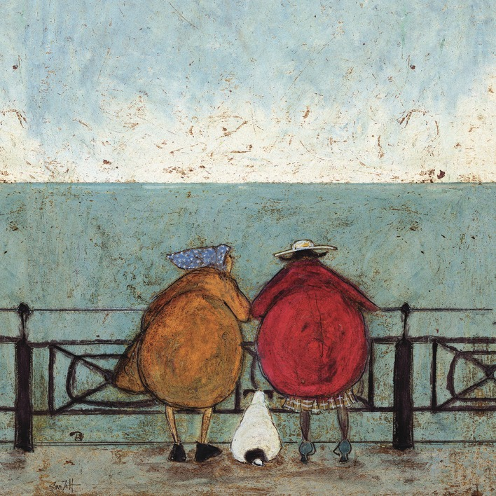 Sam Toft (Doris Earwigging) Canvas Prints