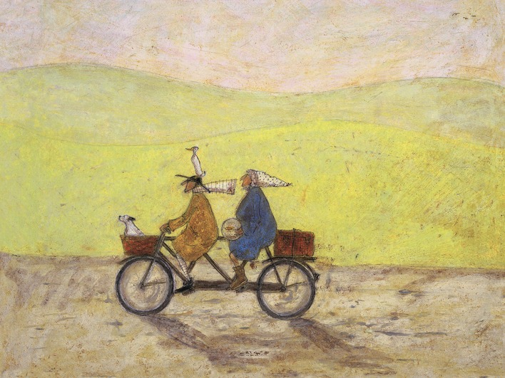 Sam Toft (Grand Day Out) Canvas Print