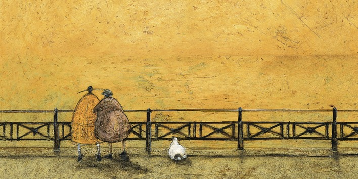 Sam Toft (A Romantic Interlude) Canvas Prints