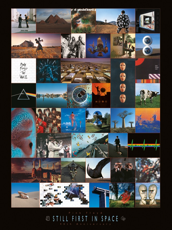 Pink Floyd (Anniversary) Canvas Print