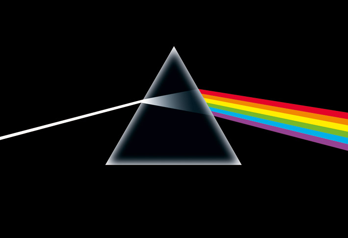 Pink FLoyd (Dark Side Of The Moon) Canvas Print