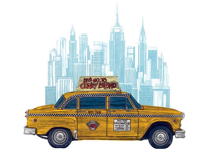 Barry Goodman (Taxi New York) Canvas Prints