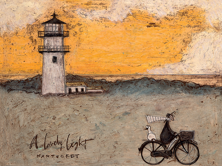 Sam Toft (A Lovely Light, Nantucket) Canvas