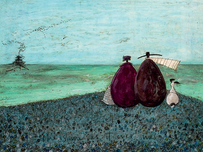 Sam Toft (The Same as it Ever Was) Canvas Print