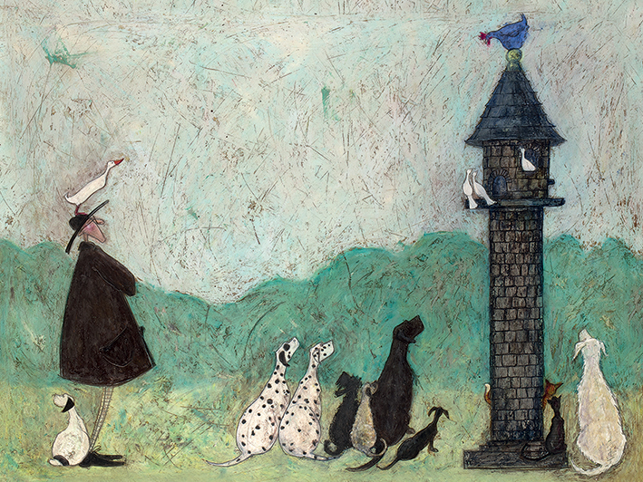 Sam Toft (An Audience with Sweetheart) Canvas Prints