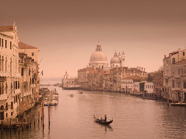 Rod Edwards (Canal Grande, Venice II) Canvas Print