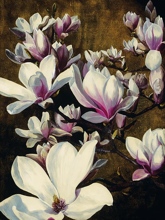 Sarah Caswell (Magnolia Silk) Canvas Prints