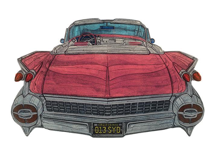 Barry Goodman (8 MPG) Canvas Print
