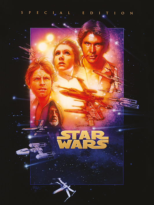 Star Wars Episode IV (A New Hope) Canvas Print