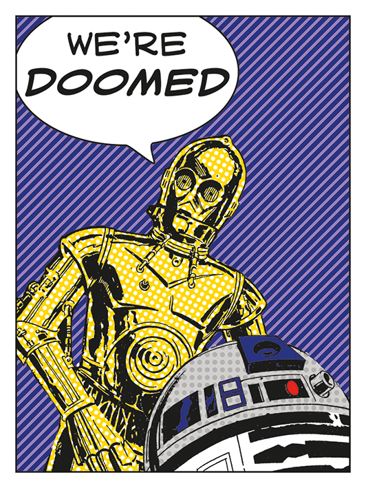 Star Wars (We're Doomed!) Canvas Print