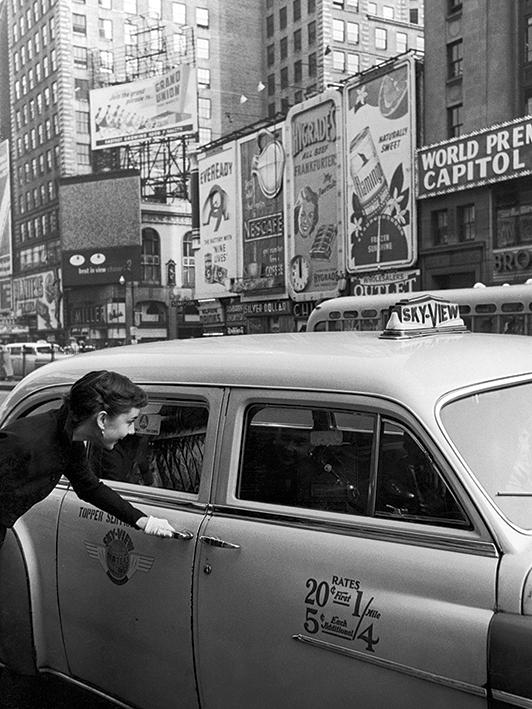 Time Life (Audrey Hepburn - Taxi) Canvas Prints