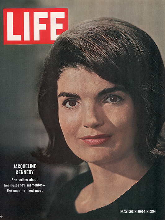 Time Life (Jackie Kennedy - Cover 1964) Canvas Prints