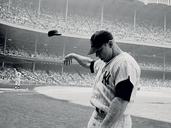 Time Life (Mickey Mantle 1965) Canvas Prints