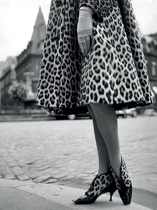 Time Life (Dior Leopard Print) Canvas Print