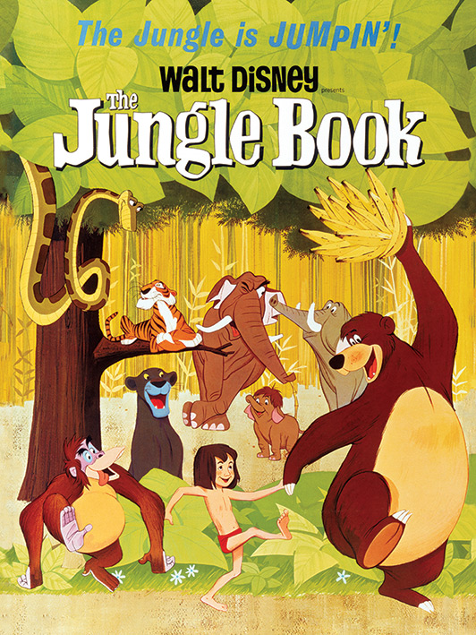 The Jungle Book (Jumpin') Canvas Print