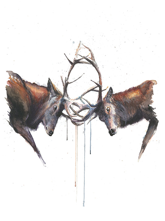 Sarah Stokes (Headstrong) Canvas Print